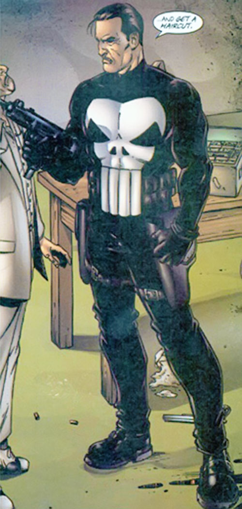 Punisher (Marvel Comics) by Dillon