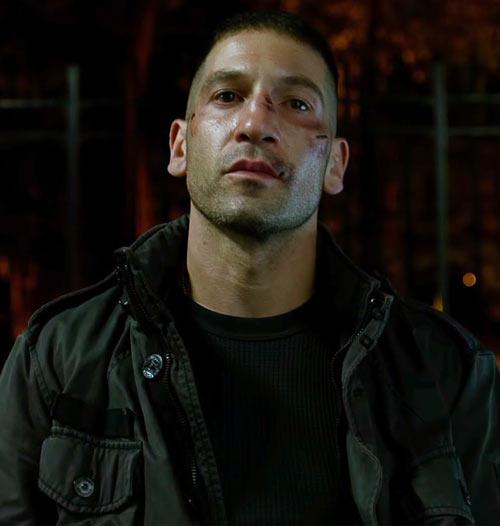 Punisher (Jon Bernthal in Netflix's Daredevil season #2) portrait