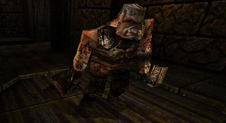 Ogre in Quake (Dark Places version)