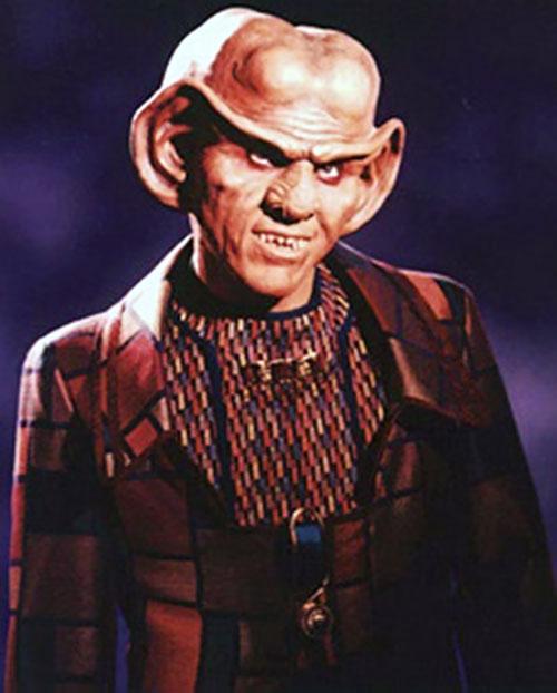 Quark (Armin Shimerman in Star Trek) portrait