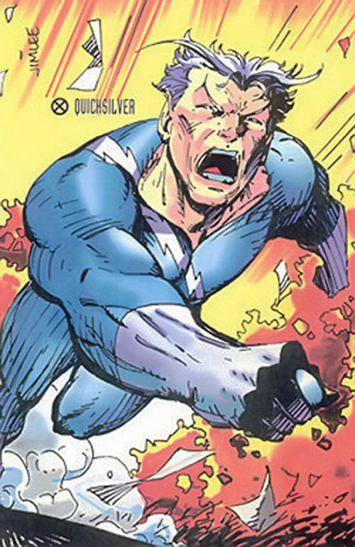 Quicksilver (Marvel Comics) by Jim Lee