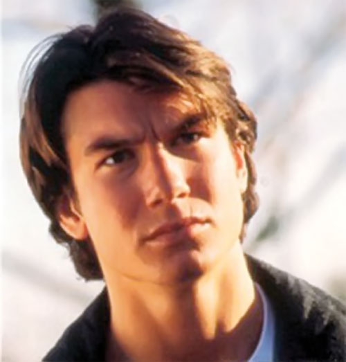 Quinn Mallory (Jerry O'Connell in Sliders) looking aghast