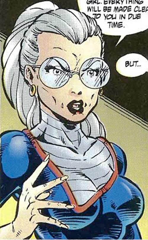 Doctor Rachel Deming of the Exiles (Malibu Comics Ultraverse) closeup