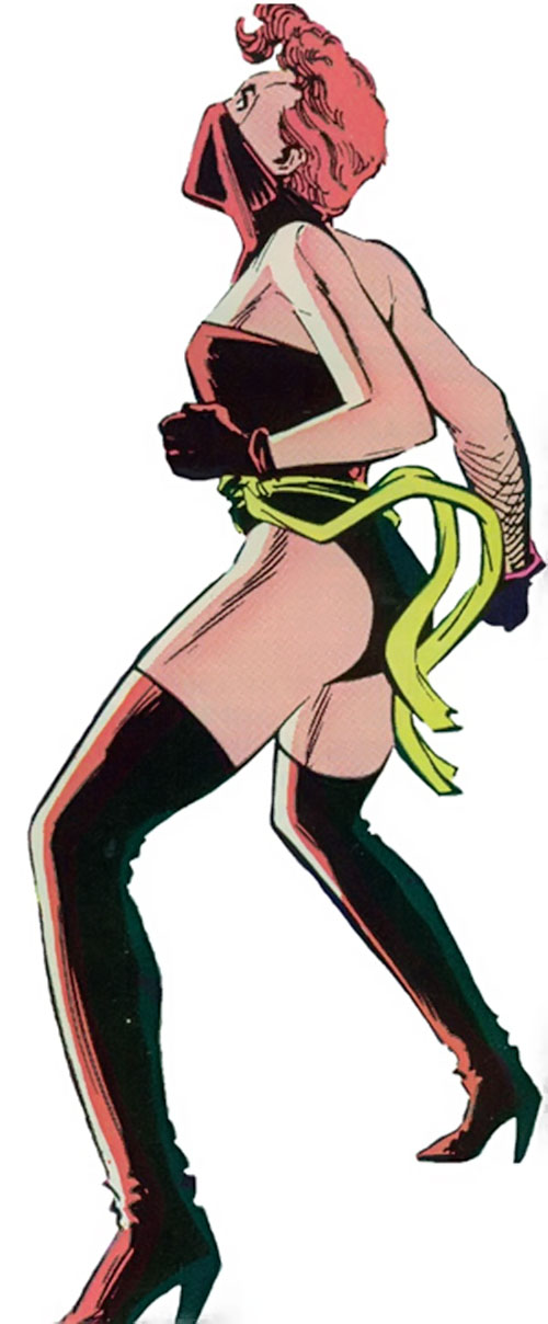 Rachel Summers of the X-Men (Marvel Comics) in a Hellfire Club outfit