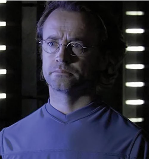 Radek Zelenka (David Nykl in Stargate Atlantis) is repelled