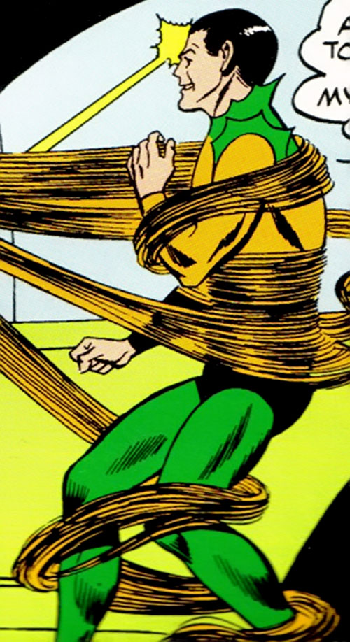 Radiation Roy (Legion of Super-Heroes enemy) (DC Comics) vs. Spider-Girl