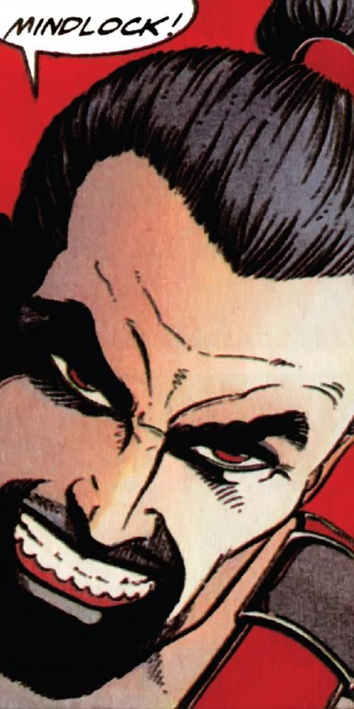 Rai (Valiant Comics 1990s) (Takao Konishi) mindlock face closeup