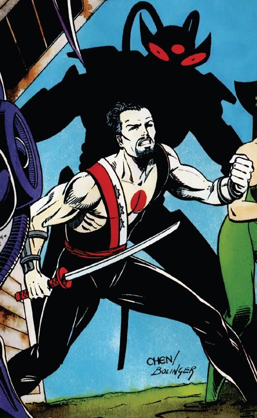 Rai (Valiant Comics 1990s) (Takao Konishi) sword in hand by Chen and Bolinger