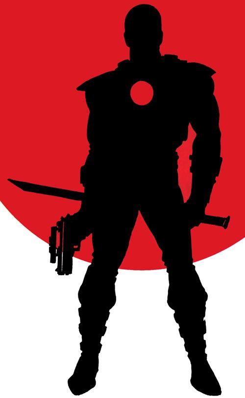 Rai silhouette Valiant comics issue 0 cover