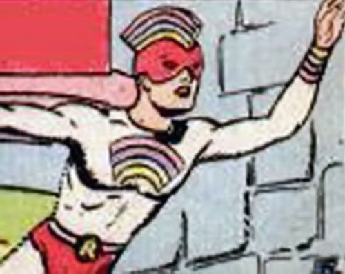 Rainbow Boy (Heroic Comics) (Golden Age)