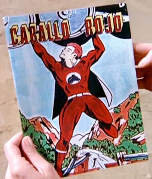 Caballo Rojo comic book in The Greatest American Hero