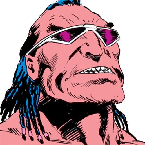 Ramon Bracuda (DC Comics) face closeup