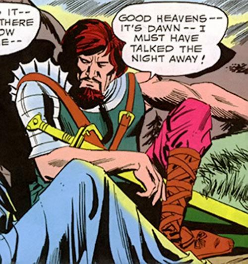 Ranagor (Wonder Woman ally) (DC Comics) sitting