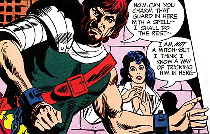 Ranagor and Diana Prince (Wonder Woman)