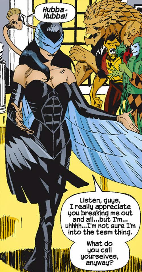 Raptor (Spider-Girl character) (Marvel Comics MC2) (Drago) and the Savage 6