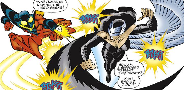 Raptor (Brenda Drago) vs. the Buzz