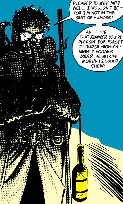 Ratcatcher (Batman & Robin enemy) (DC Comics) in darkness