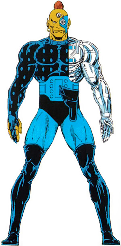 Raza of the Starjammers (Marvel Comics, X-Men) from the Master Edition handbook