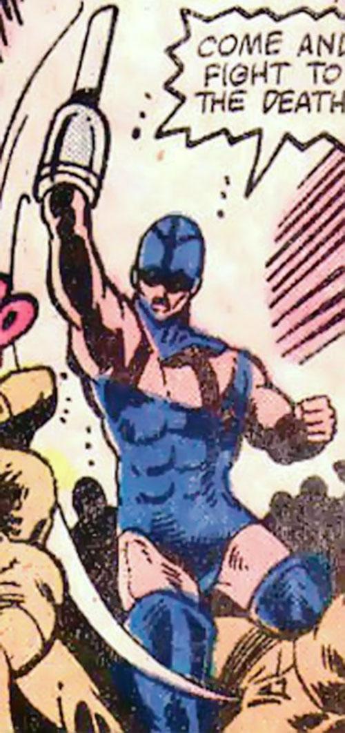 Razor-Fist III (Marvel Comics) slashes upward