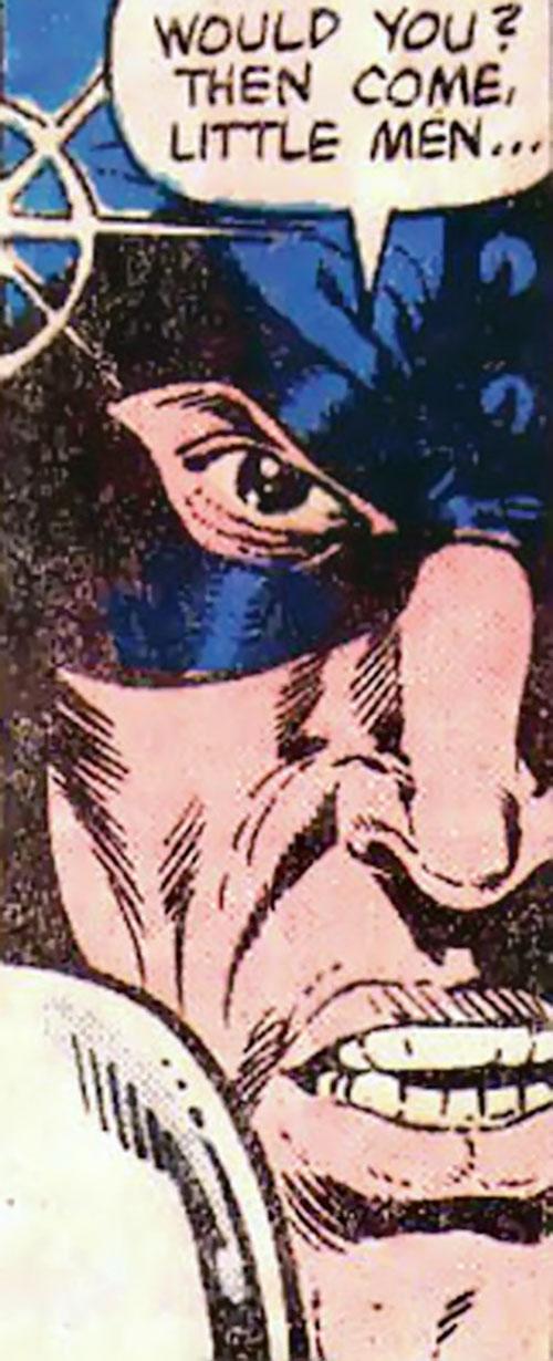 Razor-Fist III (Marvel Comics) face closeup