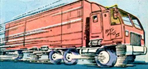 Razorback (Marvel Comics)'s Big Pig semi truck