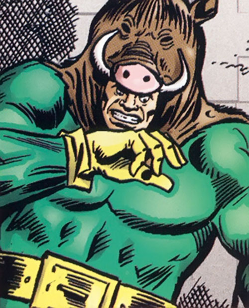 Razorback (Marvel Comics) portrait