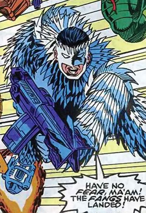 Slasher / Razorblade / Buzzsaw (Marvel Comics) as a FANG agent