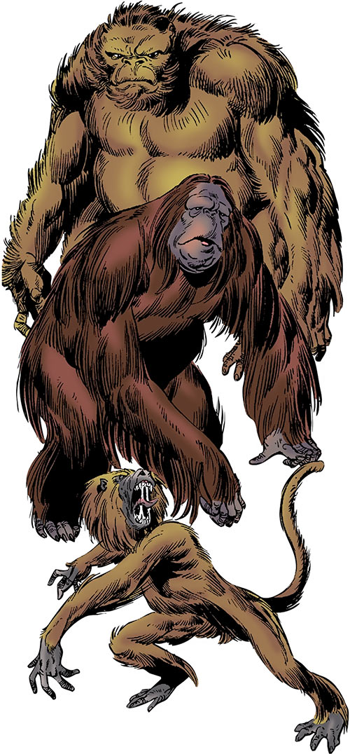 Super-Apes of the Red Ghost (Marvel Comics)