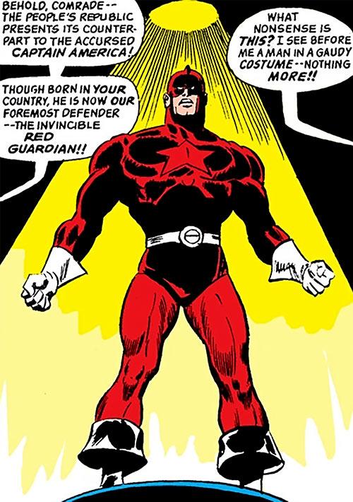 Red Guardian (Shostakov) (Black Widow enemy) (Marvel Comics) in the spotlight