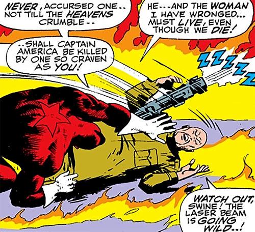 Red Guardian (Shostakov) (Black Widow enemy) (Marvel Comics) vs. Colonel Ling