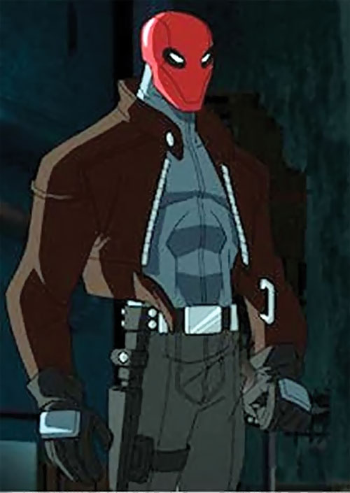 red hood batman under the red hood animated movie