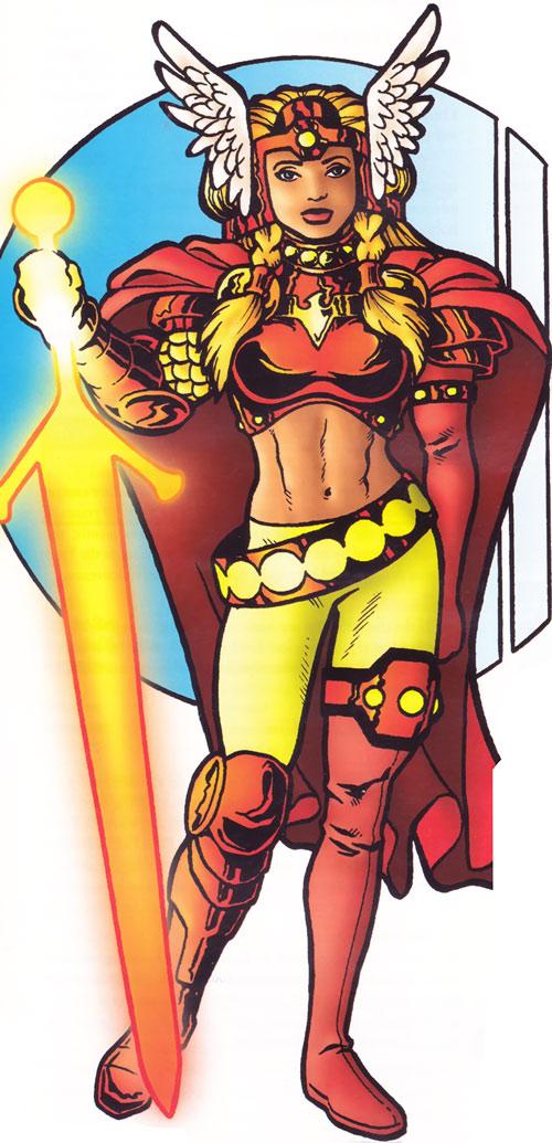 Red Phoenix (Silver Age Sentinels RPG)