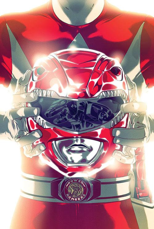 Red Ranger (Jason) of the Mighty Morphin Power Rangers - helmet and belt buckle closeup