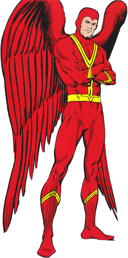 Red Raven (Timely / Marvel Comics) from the handbook