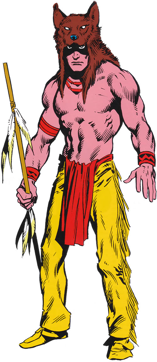Red Wolf (Marvel Comics) early costume