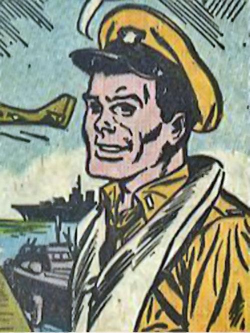 Rick Flag Sr. (Suicide Squad of World War 2) (DC Comics) (War that Time Forgot) with a flotation vest