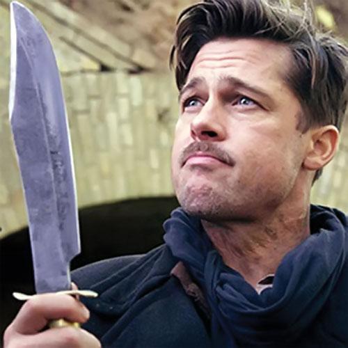 Brad Pitt in Inglorious Basterds 1/2