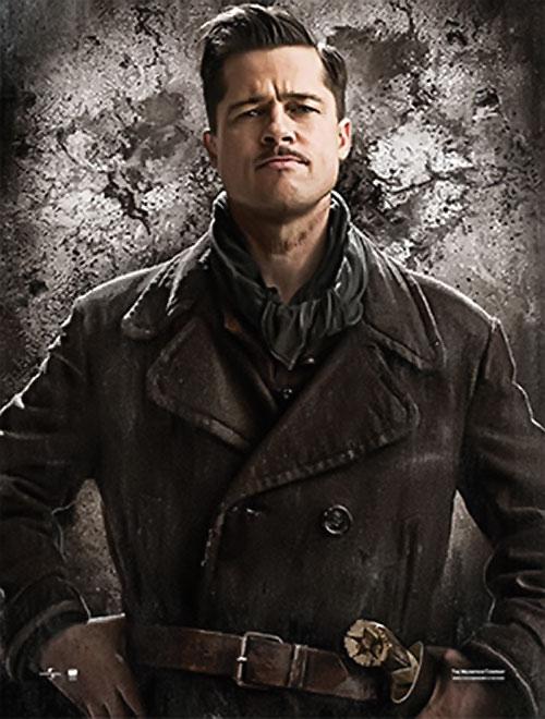 Brad Pitt in Inglorious Basterds 2/2