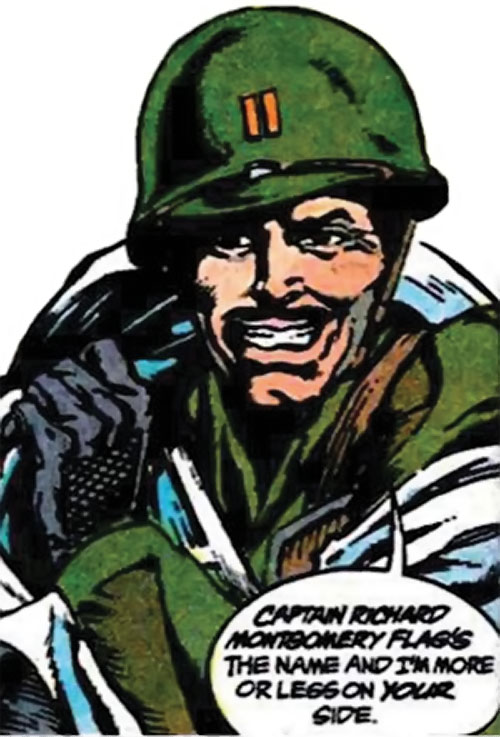 Rick Flag Sr. (Suicide Squad of World War 2) (DC Comics) (War that Time Forgot)