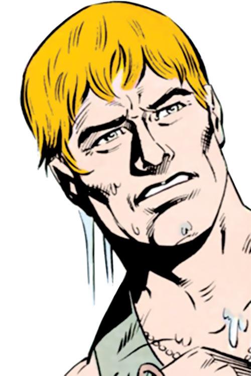 Ripcord - G.I. Joe - 1980s Marvel comics - Face closeup