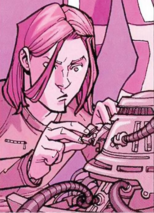 Robot (Invincible comics) working