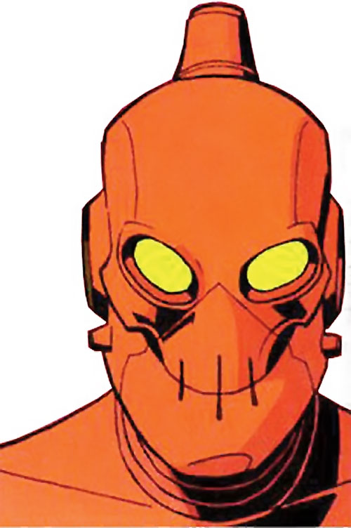Robot (Invincible comics) robot body face closeup