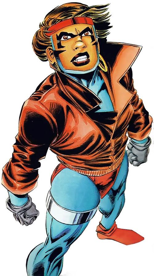 Rocket (Raquel Ervin) (Milestone Comics)