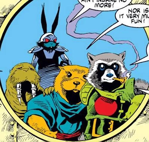 Rocket Raccoon (Marvel Comics) (Classic Mantlo) epilogue