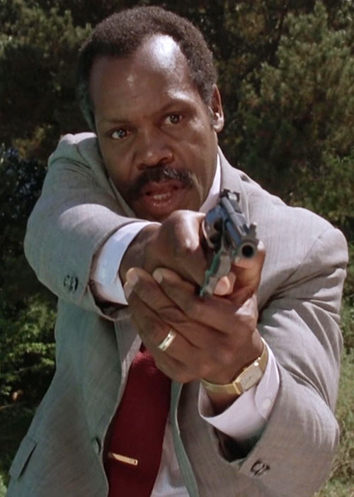 Roger Murtaugh (Danny Glover in Lethal Weapons movies)