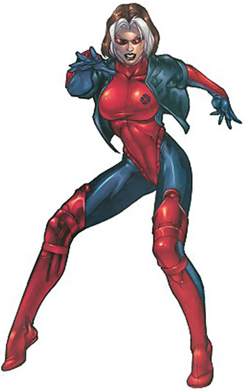 Rogue of the X-Treme X-Men (Marvel Comics) posing