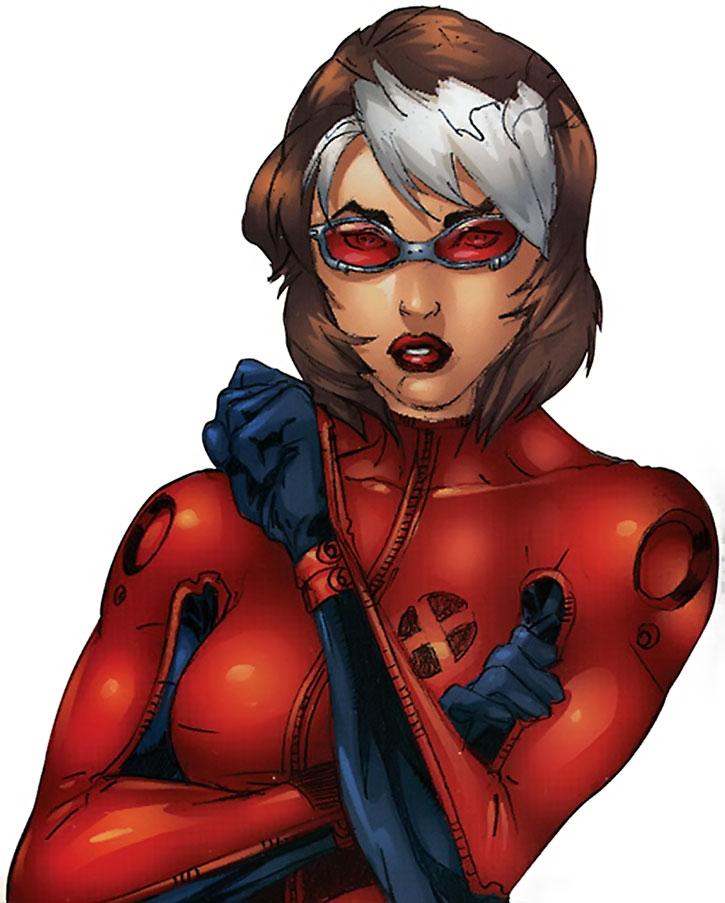 Rogue portrait with the X-Treme X-Men costume