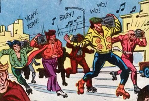 Roller Disco Devils (Hostess Comics)