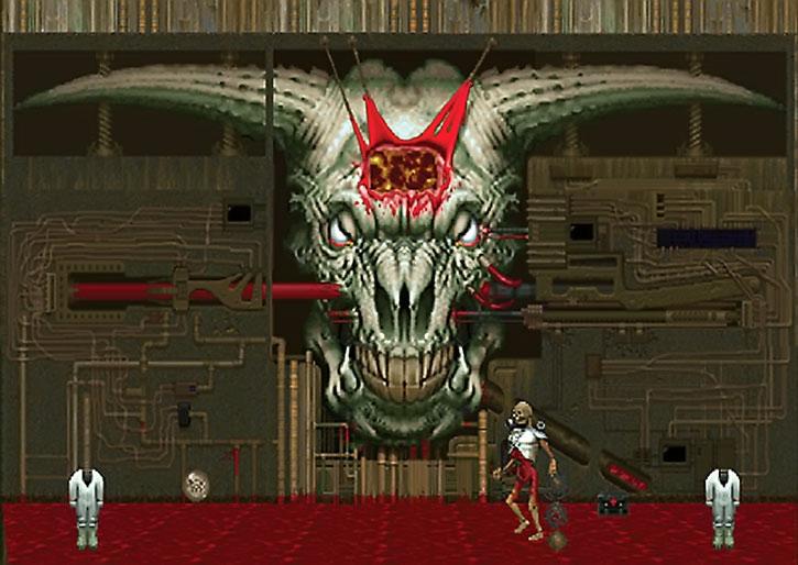 Romero's Head aka Baphomet aka the Demon Spitter at the end of Doom