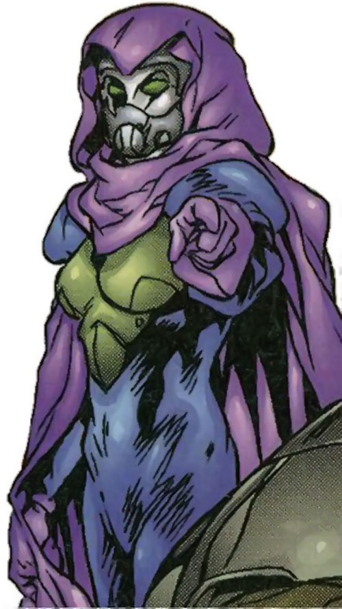 Rosetta Stone (Fantastic Four character) (Marvel Comics) with her mask